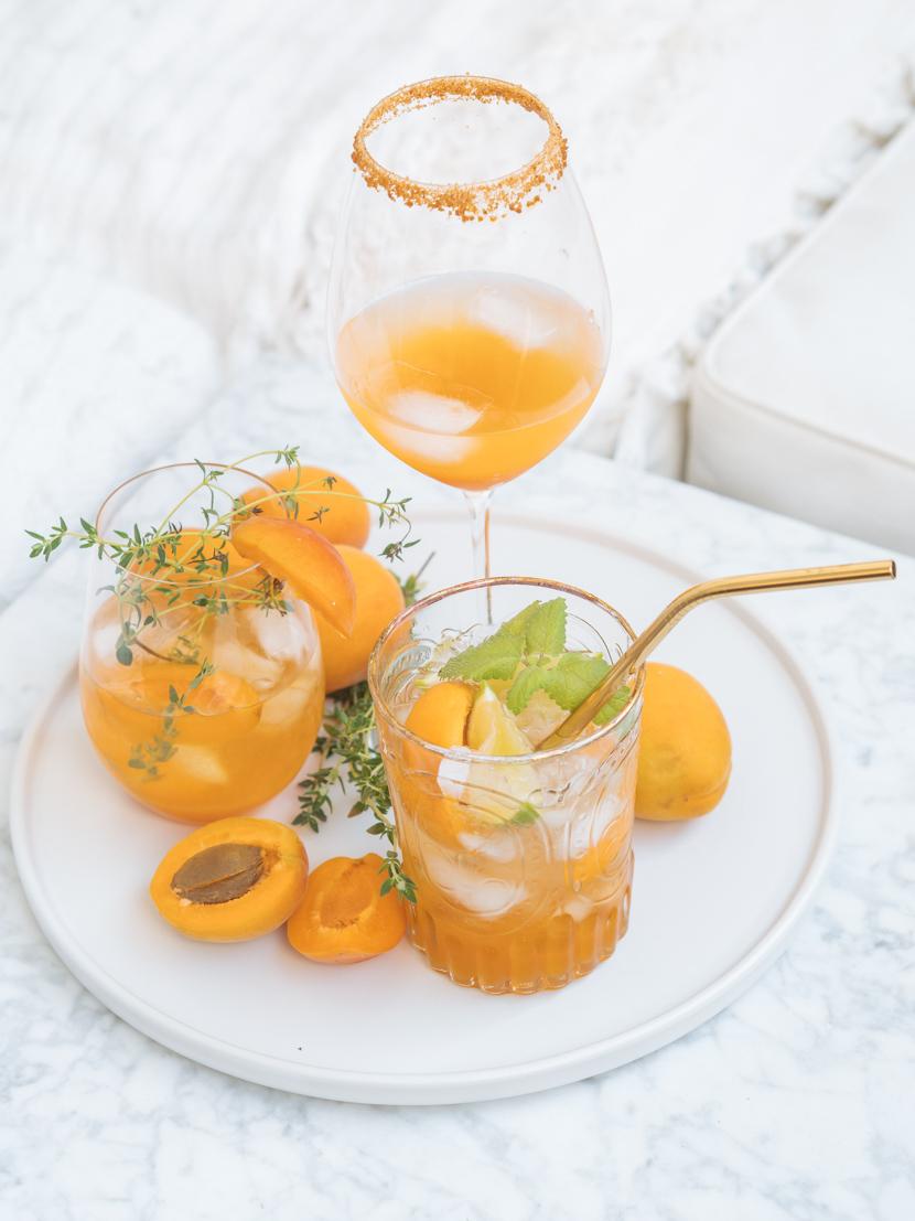 Hausgemachter Marillensirup inkl. drei Cocktail Rezepte 1