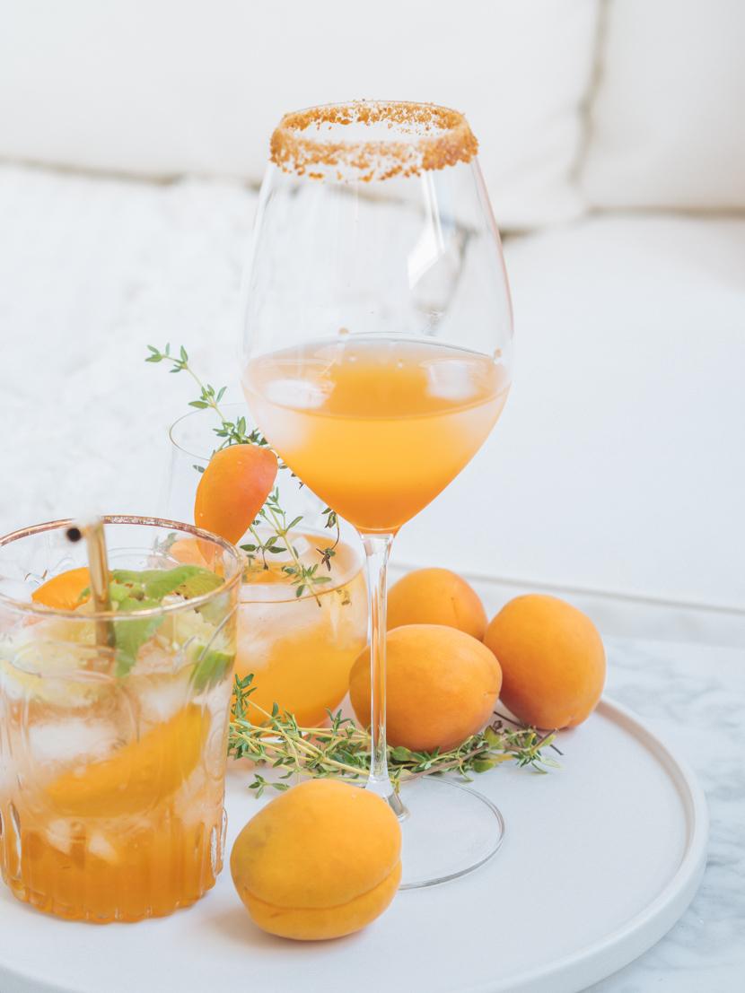 Hausgemachter Marillensirup inkl. drei Cocktail Rezepte 3