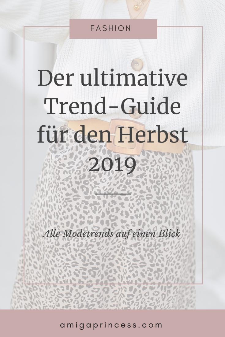 Der ultimative Trend-Guide für den Herbst 2019: alle Modetrends auf einen Blick 6