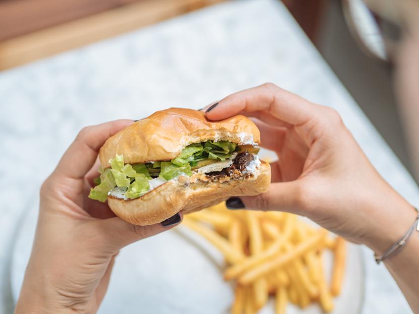 Veggie Burger Patties aus Linsen und Pilzen - einfach selbst gemacht 2