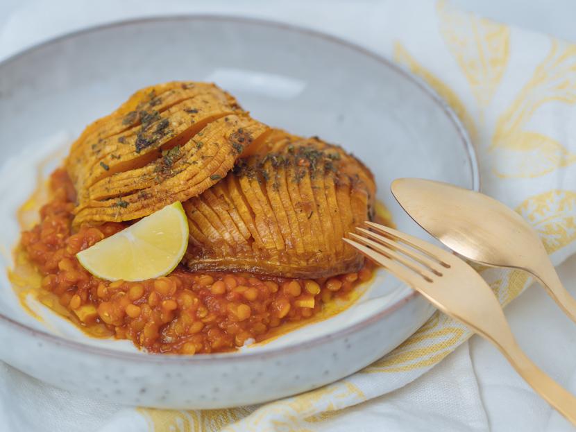 Butternusskürbis aus dem Ofen mit indischen Gewürzen - schnell und unkompliziert 8