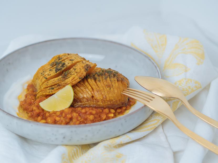 Butternusskürbis aus dem Ofen mit indischen Gewürzen - schnell und unkompliziert 7