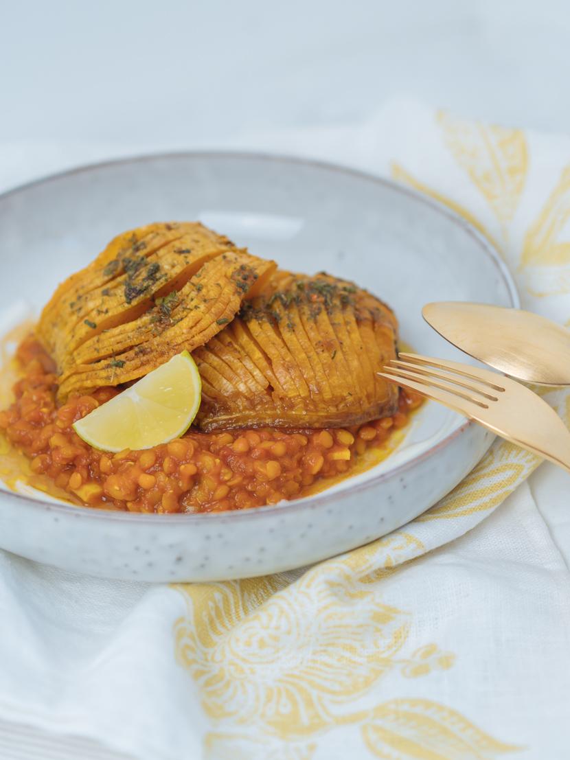 Butternusskürbis aus dem Ofen mit indischen Gewürzen - schnell und unkompliziert 6
