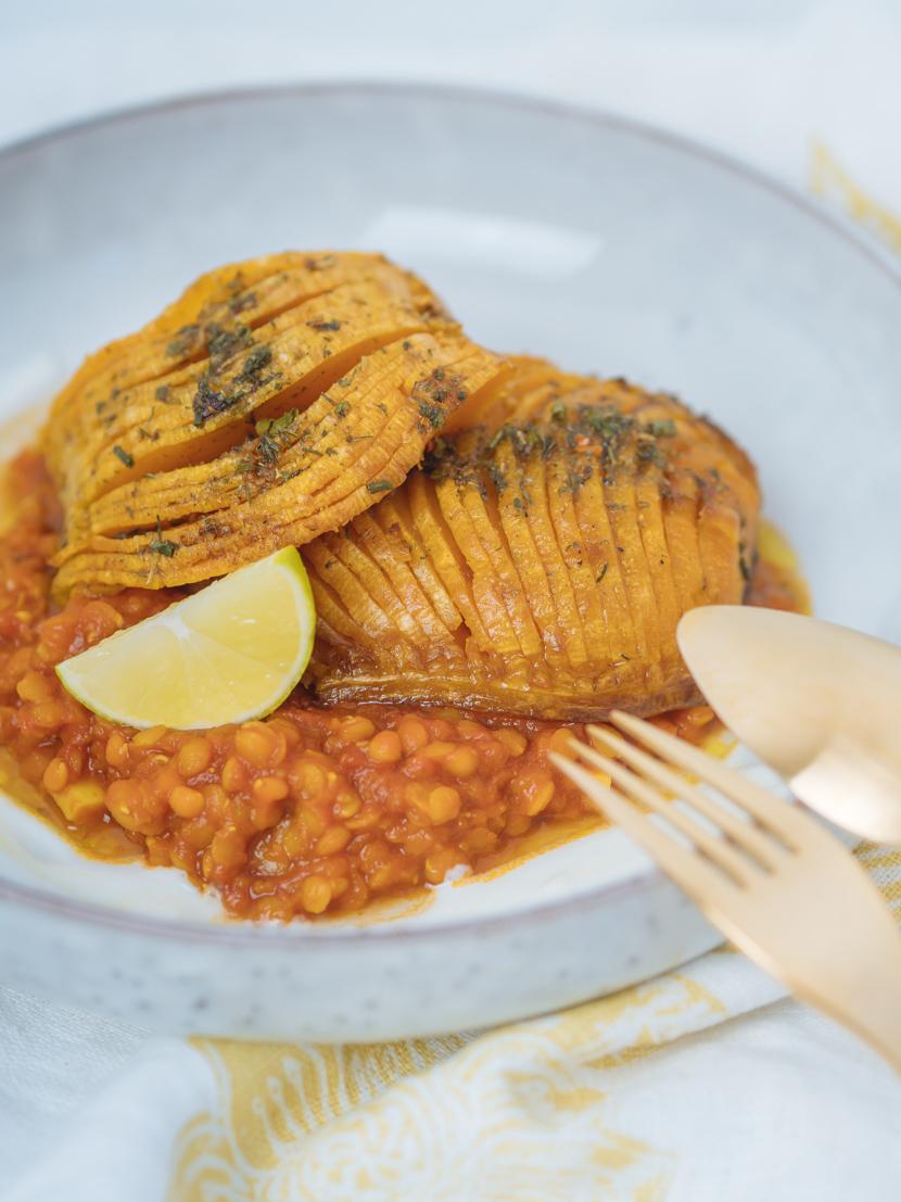 Butternusskürbis aus dem Ofen mit indischen Gewürzen - schnell und unkompliziert 5