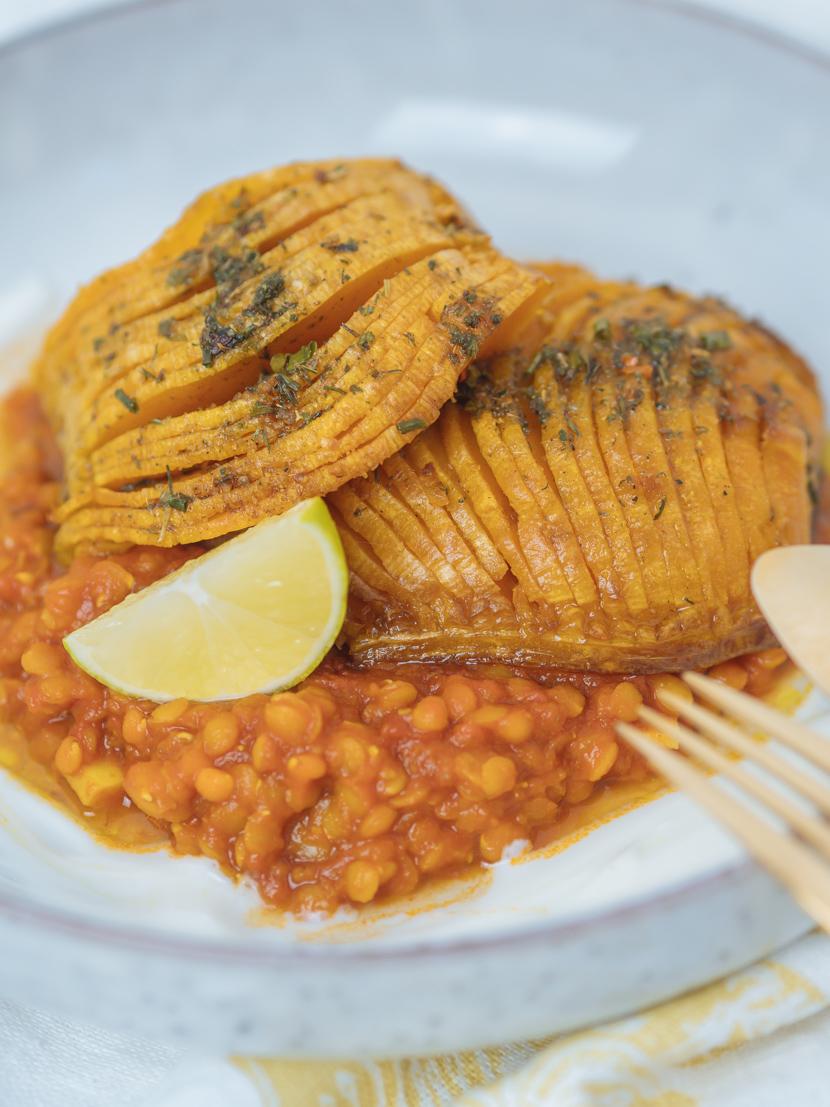 Butternusskürbis aus dem Ofen mit indischen Gewürzen - schnell und unkompliziert 1
