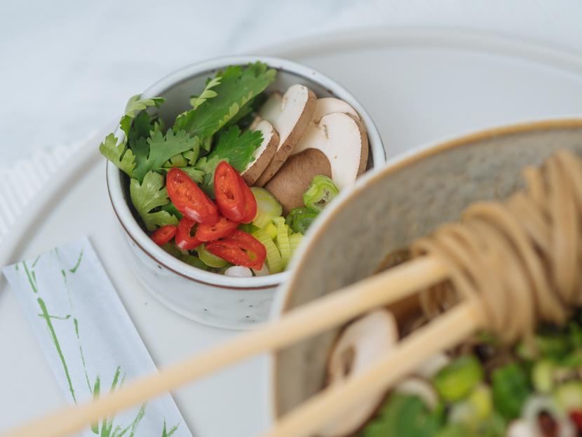 Einfaches, vegetarisches Ramen Rezept mit Tofu 4