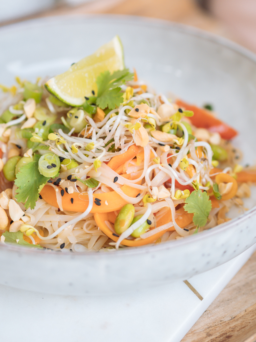 Veganes Pad Thai - einfach und schnell zubereitet 2
