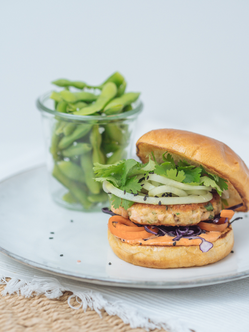 Einfaches und schnelles Rezept für Asia Lachs Burger 5
