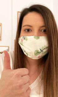 Covid-19 Mund-Nasen-Schutz selber machen: schnelles DIY für Personen mit kleinem Gesicht 19