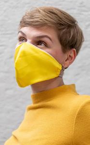 Covid-19 Mund-Nasen-Schutz selber machen: schnelles DIY für Personen mit kleinem Gesicht 20