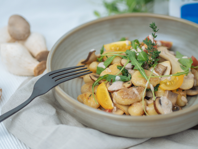Gnocchi mit Walnusspesto und Pilzen* 4