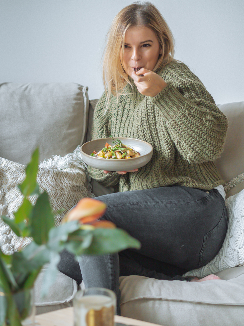 Gnocchi mit Walnusspesto und Pilzen* 1